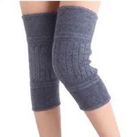 Lengthen thickening cashmere kneepad winter thermal leggings knee wool male female general