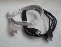 Computer usb extension cable usb data cable double layer copper wire long 1.8 3 meters