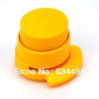 Free shipping No needle environmental Convenient  stapler random color