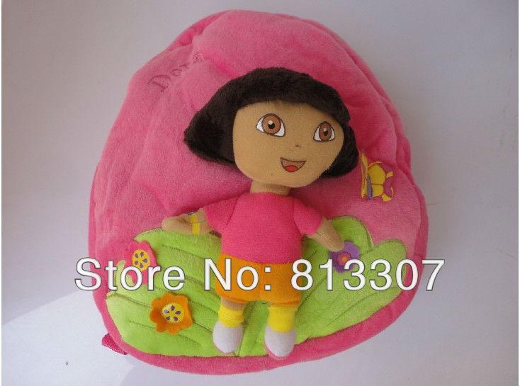 5pcs Dora the Explorer Escola Plush Mochila 11,5 ' nova marca(China (Mainland))