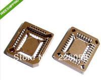 Free shipping 50 pcs PLCC32 32 Pin SMD Socket Adapter PLCC Converter