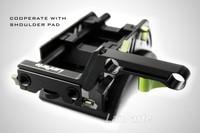 G132A For DSLR Canon Nikon Camera Camcorder gh1 gh2 Lanparte OFC-02 Adjustable Offset Clamp