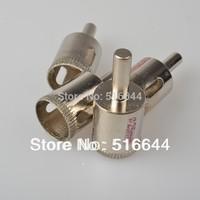 Wholesale 10 PCS/Set 18MM Hole Saw Granite Glass  Cutter  Diamond Coated Drill Accessories Bits Opener Bits Free Shipping