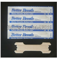 Free shipping 800pcs/Lot (66*19mm) Better Breathe, Better Sleep Nasal congestion relief Nasal Strips