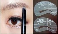 4pcs/lot Painted Eyebrow Pencil Model 4pcs Styles Eye Brushes Shadow Template Stencil Makeup Tools DIY Shaping Free Shipping