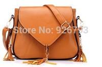 xams gift bag Women's handbag 2014 women's female fashion handbag tassel  handbag shoulder  large  motorcycle  vintage