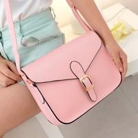 xmas gift bag Women's handbag messenger  preppy style vintage envelope  shoulder  messenger  briefcase