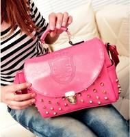 xams gift bag Bags 2014 women's handbag autumn new arrival vintage rivet all-match women's messenger  handbag