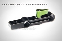 G141A LanParte MAC-01 Rod Clamp with 3/8 inch thread for Standard 15mm DSLR/DV Support Rig System