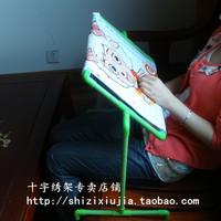 free shipping Desktop pvc  cross stitch rack cross stitch frame embroidery frame 40*30CM G9-06