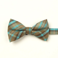 Ifsong plaid bow fashion male formal married cotton bow tie 192
