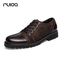 Fashion fashion male casual leather shoes male autumn genuine leather casual shoes bullock shoe the tide male shoes
