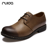 Autumn fashion vintage low-top shoes male genuine leather the trend of casual shoes fashion leather shoes sailing boat men's