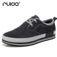 Platform shoes autumn fashion genuine leather shoes male tide of low-top skateboarding shoes fashionable casual leather men's