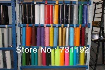 33Rolls 50 x100cm Heat Transfer PU Vinyl With Sticky Back 33colors Plotter Print