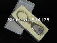 5 X  New Car logo 3D Keychains METAL KEY CHAIN Ring For  Auto Car With Gift Box  Free shiping  By Post Air Mail