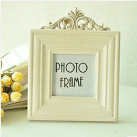 Square Shape Vintage Style Hallow out Photo Frame Rural Style Wooden Photo Frame Home Decoration Gift P1019