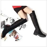 New arrival 2013 redpepper small knee-length boots high-leg stovepipe tall boots boots