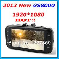 100% Original HD1080P Car Camera Vehicle DVR Video Recorder Dash Cam G-sensor Night Vision HDMI with mount GS8000L