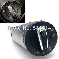 Chrome Euro Headlight Switch Control for VW Jetta Golf Mk4 Passat Beetle