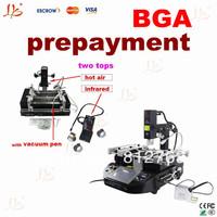 prepayment of bga rework station IR6000 IR6500 IR9000 PRO SC, HR560 HR460 R490