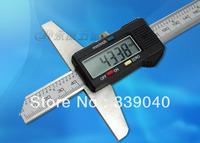 Genuine stainless steel electronic digital depth caliper 0-150mm depth gauge measuring tools Industrial Hardware