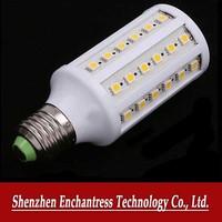 FreeShipping 6PCS/LOT saving E27 10W 220V Warm White 60 LEDs 1080LM SMD Led bulb Corn Light Bulb led lamp