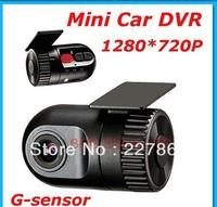 Sales hot :2013  newest model .MINI Car camera D168 HD Smallest Car DVR recorder Dash Cam G-sensor ,promotion ,free shipping .