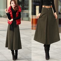 New winter wool bust dress free shipping