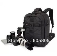 "Lowepro Pro Runner 350 AW 15.4"" notebook & Camera Backpack free shipping Digital DSLR shoulder backpack Bag"