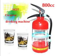 Freeshipping creative fire extinguisher drink dispenser soft drink dispenser,beer dispenser,frozen drink machine