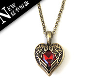 Free shipping_99 fashion accessories sumin fashion vintage short design of hearts necklace gn