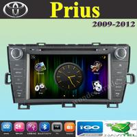 "7"" Car DVD Player Radio autoradio With GPS Navigation For Toyota Prius 2009 2010 2011 2012 2013 + phone book + Free map"