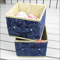 Blue debris box 2 , sundries storage box storage box storage box without cover