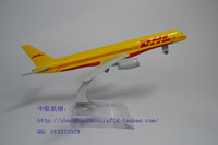 DHL Express B757 200 Airlines Plane Model 16cm 1:400 Alloy Airways Aviation Model Kids Intelligence Aircraft Toy Collections