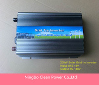 Free shipping! GTI 200W Grid Tie Inverter, On Grid Inverter 200W  for PV Solar System,high frequency inverter(CP-GTI-200W)