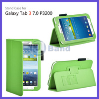 For Samsung Galaxy Tab 3 7.0 P3200 P3210 PU Leather Stand Case Cover Free Shipping