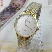 gold fashion High very good  Quality Dress men quartz  name brand watches the items Hour mens best gift
