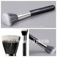 2PCS Professional Cosmetic Stipple Fiber Powder Blushes Soft Brush Foundation Makeup