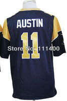 cheap Games St. Louis #11 Tavon Austin Navy Blue Men's Authentic games Football Jersey,Embroidery logos,size S-XXXL