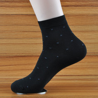 Double 1 galeoid men's socks combed cotton male knee-high socks men's socks anti-odor summer thin socks