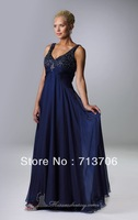 Fashionable Sequins Long Prom DressWith Jacket Mother of the Bride Dress Custom Made Free Shipping