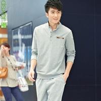 Male sports set with a hood business casual sportswear set Men sweatshirt sportswear set spring and autumn