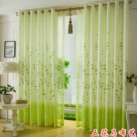 Customize simple punch curtain fabric cloth curtain
