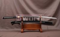 Art Japanese Handmade Sword Samurai Katana Carbon Steel Practical Sharpened 669