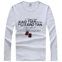 Men's clothing long-sleeve slim t-shirt basic shirt a1105