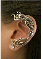 European and American trade original single jewelry retro   gothic style Mermaid   Creative Earrings ear clip LM-C059