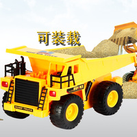 Ploughboys large-scale remote control engineering car dump truck loaders bulldozers charge remote control car boy toy car
