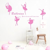 Wall stickers dance dream ballet
