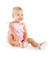 Mud pie 2013 bubble cotton yarn pleated one-piece romper adjustable shoulder strap long and short